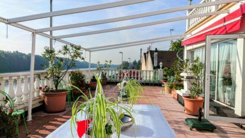 Mariage avec terrasse sur la Seine 91
