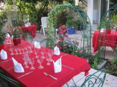 Jardin pour vin d'honneur Athis-Mons 91