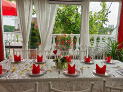 salle avec terrasse mariage bapteme anniversaire